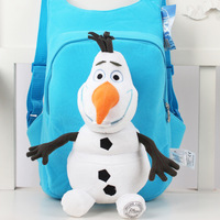 New High Quality Cute 3D frozen girls boys toy doll school bag lovely backpack, children bags for school