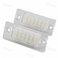 2 White 18 LED 3528 SMD Number License Plate Lights Lamp for VW Passat B5