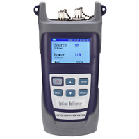 Free shipping via DHL RY-M3207A Handheld Fiber Optical Multimeter (Fiber Power Meter + Light Source)