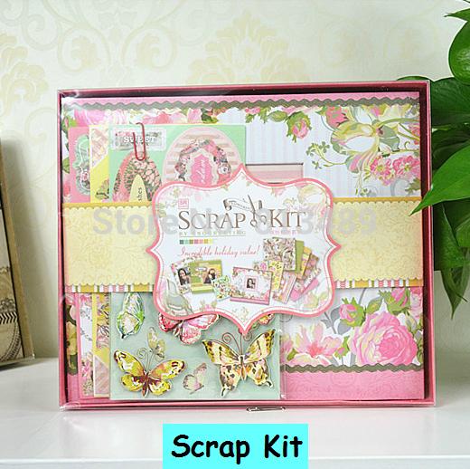 Wedding Scrapbook Kit Scrapbooking Kit Wedding