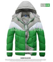 free shipping Men winter jacket ,new arrived fashion sports outdoor Winter down coat men,men outerwear jacket