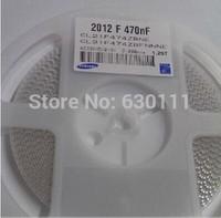 0805 470NF 474K X7R 25V +-10% SMD Ceramic capacitor CL21B474KAFNNNE RoHS 1000PCS/LOT Free Shipping