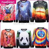Men New Style Long Sleeve Couple Hoodies Emoji Hoodie O Neck 3D Sweatshirt Good Printing Junior Clothing Hoody  45-1