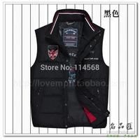 2014 new men's vest vest shark warm warm autumn and winter jacket LUC18072