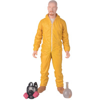 High Quality Free Shipping 16.5cm(H) Breaking Bad Heisenber Walter White Figure Yellow Clothes New Gift Hot Sale
