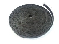 High quality Rubber timing belt GT2 type 2mm pitch for 3D printer 9mm width open end 50M/roll