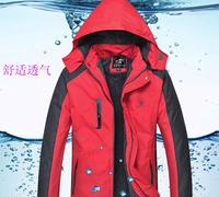 XL-4XL Plus size 2015 New  men outdoor Autumn winter outfit cotton-padded jacket men ski-wear cotton-padded jacket  men's jacket