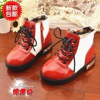 2014 baby girls winter boots waterproof slip  Feet long 16 ~ 18cm