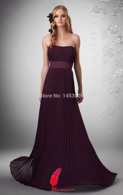 desconto especial 2015 roxo vestidos de dama de honra chiffon beading querida princesa champagne vestido da dama de honra(China (Mainland))
