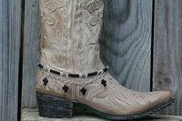 BB-013 60pc/lot free shipping  toggle buckle handmade beaded cross boot  bracelet jewelry
