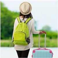 W444 Ladies travel folding backpack outdoor multi-purpose creative storage bag backpack