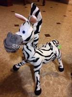 FREE SHIPPING SALE Movie & TV Doll 1pc 38cm Funny Kawaii Cute Cartoon Character Madagascar Plush Soft Toy Zebra Stuffed Animal