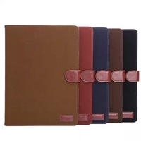 1 piece/lot Joe grain pattern Cover Case For iPad 6 Leather Wallet Case Cover with cards holder for iPad Air 2 IPAD6-12