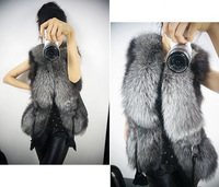 free shipping new fur vest jackets 2015 women coat autume winter blazer feminino faux leather clothes chaquetas mujer tops