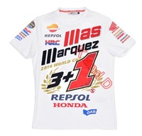 2014 Official Marc Marquez 93 World Champion Moto GP Rep-sol Limited T-Shirt