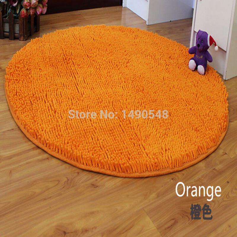 O envio gratuito de 80 cm * 80 cm Hot venda lavável nova grosso chenille tapete Shaggy tapetes de banheiro tapete de banho tapete cores alternativas(China (Mainland))