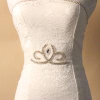 2014 New Arrival Crystal Beads Luxurious rhinestone waistband Cheap Wedding Bridal Belt Sash Free Shipping BW15