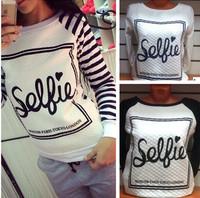 Sellie Printed Sweatshirt Women Hoody Fashion New 2014 Autumn Sport Suit Women Hoodies Tracksuits Free Shipping