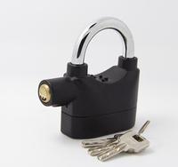 Free Shipping Wholesale Anti-Theft Alarm Lock Security System for Door Motor Bike Bicycle Padlock 120dB