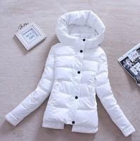 2014 wadded jacket for women thickening warm coat cotton-padded jacket turtleneck wadded Coat PU solid shiny slim jackets XXL