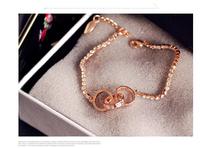 2014 new Korean fashion personality luxury classic retro romantic sweet temperament ladies circle bracelet   S6038