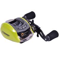Top quality 6.5:1 Ghini 51cs left hand wheel 10BB full metal frame drop round lead wheel baitcasting fishing reel