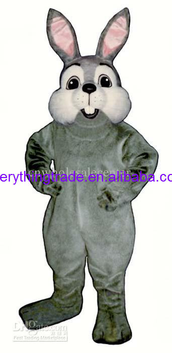 Hot sale 2014 Adult cute Richie Bunny mascot costume fancy dress Halloween party costumes adult size(China (Mainland))