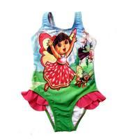 Cartoon Printed Swimwears Girls one Piece Swimsuit:Swimwear Kids Biquine Swimsuits Bikinis and Child  Baby Costume Clothes