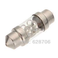 31mm 4 Led Pure White Festoon Dome Door Light Lamp Bulb 3021 3021 3022 DE3175