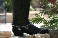 BB-022 60pc/lot free shipping  toggle buckle handmade beaded latest women fancy gun boot bracelet