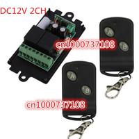 SG POST DC 12v 10A relay 2CH wireless RF Remote Control Switch Transmitter+ Receiver AK-RK02S-DL