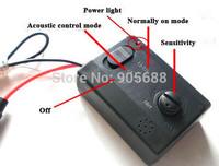 100pcs/lot 10A Car Auto LED Music Voice Control Flash Light Lamp Flasher Strobe Controller 12V
