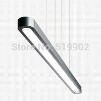 Free shipping LED ruler chandelier office, den, living room, dining room, bar modern minimalist