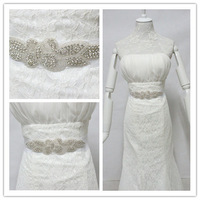 Min order $10 Free shipping Wedding DIY accessories Bride Belt bridesmaid Sash HANDMADE shinning rhinestone waistband BW19