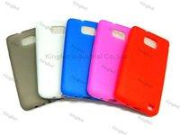 200pcs/Lot TPU GEL Case Cover Skin for Samsung i9100 Galaxy S II