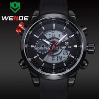 2014 New WEIDE Men Waterproof Military Dive Watch Male Clock Led Date Business Japan Quartz Watch For Men Relogio Masculino