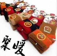 Thickening child thick thermal wool socks loop pile socks baby cashmere socks winter kid's socks