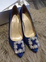 women pumps silveryarn austrian diamond buckle genuine leather high heels single shoes brand spring luxury shoes lx1604 cheap
