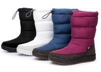 winter knee high boots suede snow boots women platform shoes women chaussure femme lamb fur boots snowshoes bottes BW65