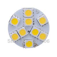 Warm White G4 5050 SMD 9 LED Car Cabinet Marine Bulb Lamp Light DC 12V Back Pin
