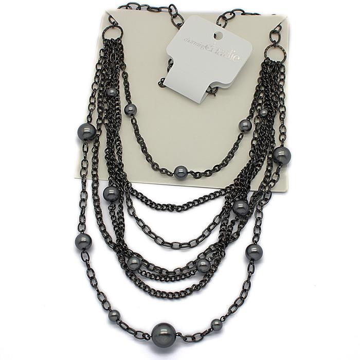 lindo multi- camada pérola acessórios de moda colar 00800(China (Mainland))