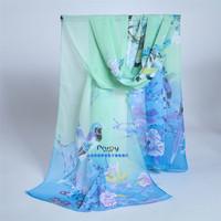 fashion pashmina women scarf 2014 new design long shawl cape silk chiffon tippet muffler echarpes Scarves