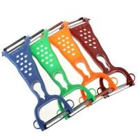Free Shipping Gadgets Helper Vegetable Fruit Peeler Parer Julienne Cutter Slicer Kitchen Easy Tools
