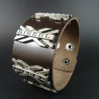 2015 Fashion Cool Men Jewelry Charm Leather Bracelet
