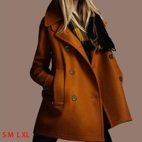 Thick Winter Wool Coat Women Plus Size Long Trench Coats Girls Outdoor Overcoat 2014 New Fashion Brand Women's Clothes Abrigos