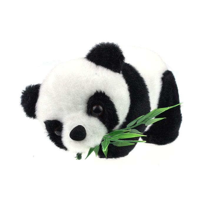 Christmas Birthday Gift Baby Kids Boy Girl Cute Soft Stuffed Fuzz Panda Animal Doll Toy Eatting Bamboo Leaves Panda(China (Mainland))