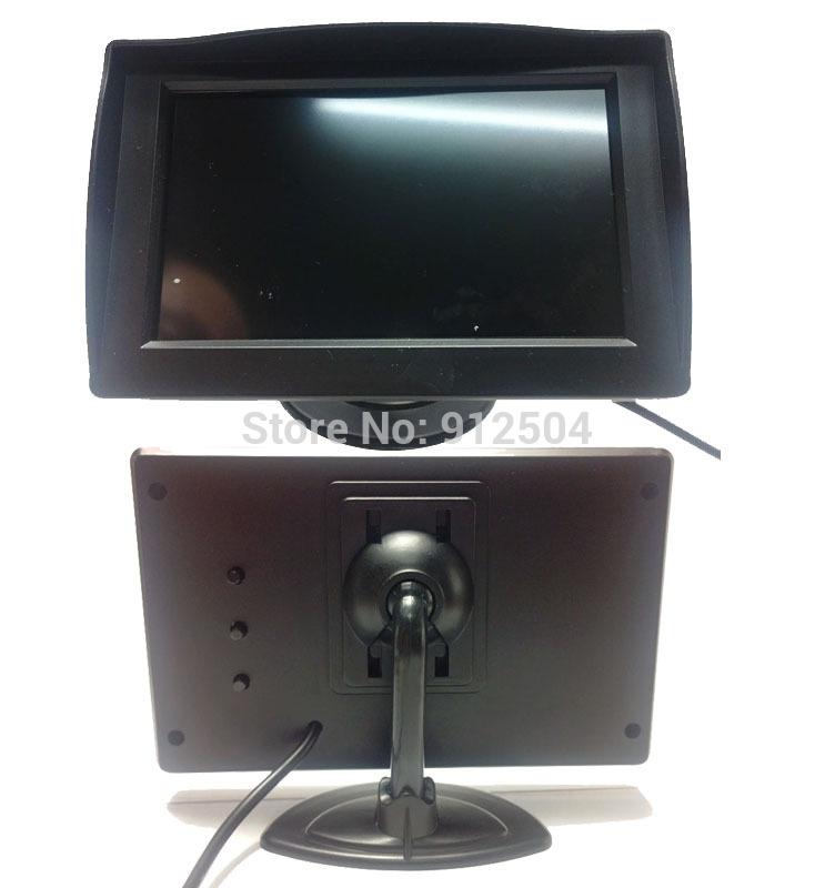 Автомобильный монитор 150pc/4,3/tft LCD HD LCD DVD автомобильный монитор 4 3 раскладной