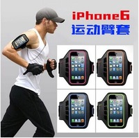 Cell phone Sport armband case for iphone 6 4.7 inch pouch breathable HIGH QUALITY Xmas gifts  5pcs/lot