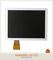 Original New 8 inch TFT LCD A080SN01 V0 For Digital Camera Frame portable DVD ,MID ,Car DVD  free shipping