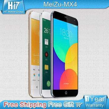 """Meizu MX4 M461 оригинальный 4 г LTE мобильный телефон MTK6595 Octa ядро 5.36 """" IPS экран 2 ГБ 20MP бесплатная доставка"""